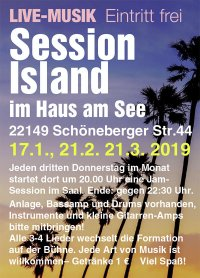 Session Island Flyer 2019